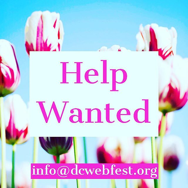 Creative, ambitious, and talented looking for work? Hit up these peeps ☝️info@dcwebfest.org . . #dcwebfest #webfest #mediamatters #artheals #webseries #newmedia #newmediaart #202creates #bythings #acreativedc #digitalstorytelling #podcasting #indiefilm #storytelling #digitalart #independentfilm #screenwriting #indiegames #netneutrality #immigration #inequality #bethechange #changetheworld #podcast #podcasters #bloggerswanted #igseries