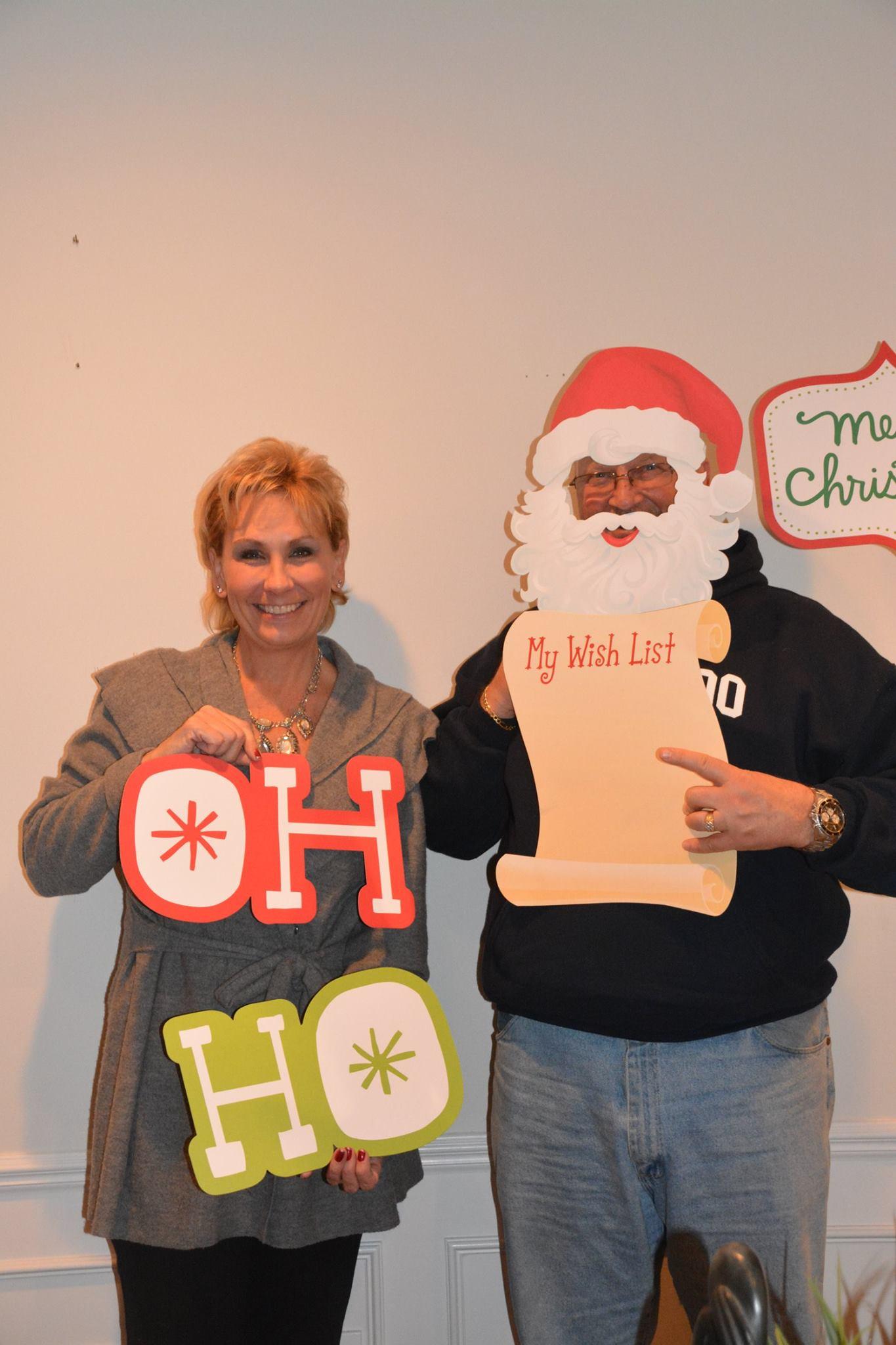 Christmas David and Laura