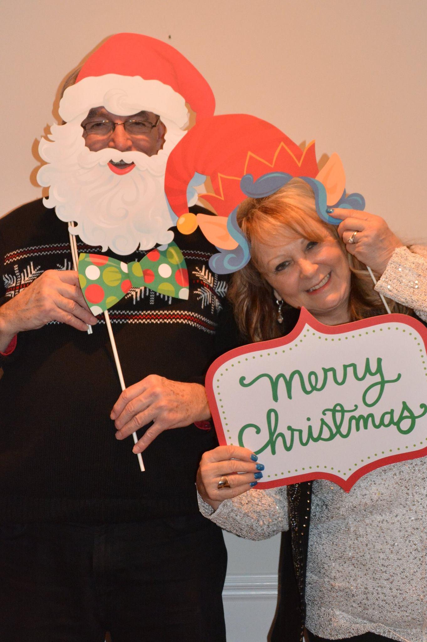 Christmas Linda and Mr Rea