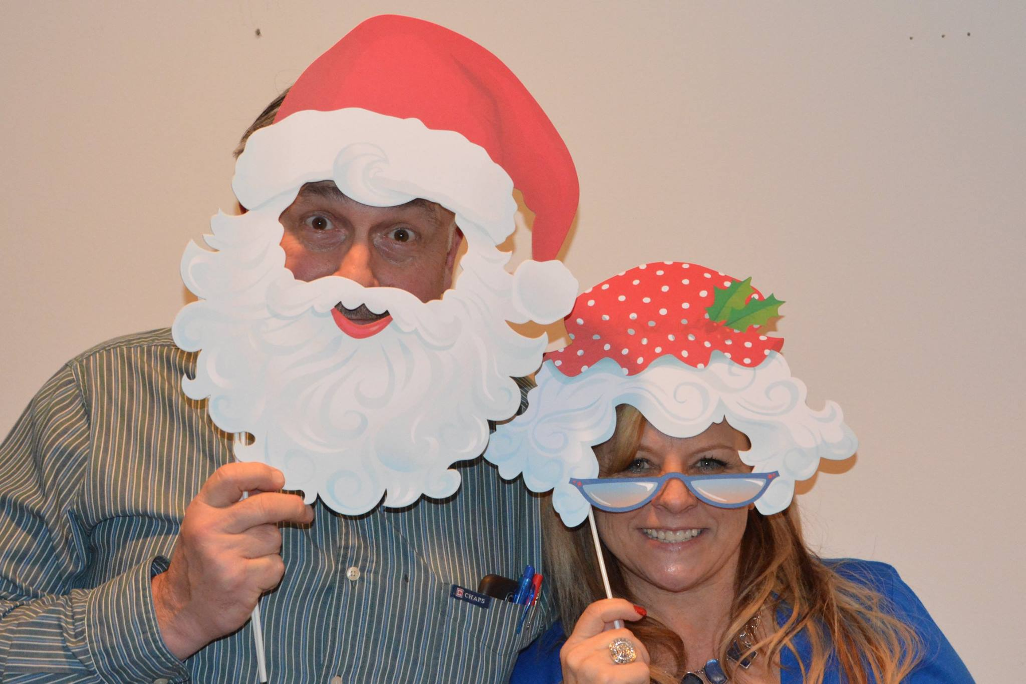 Christmas Pete and Paula