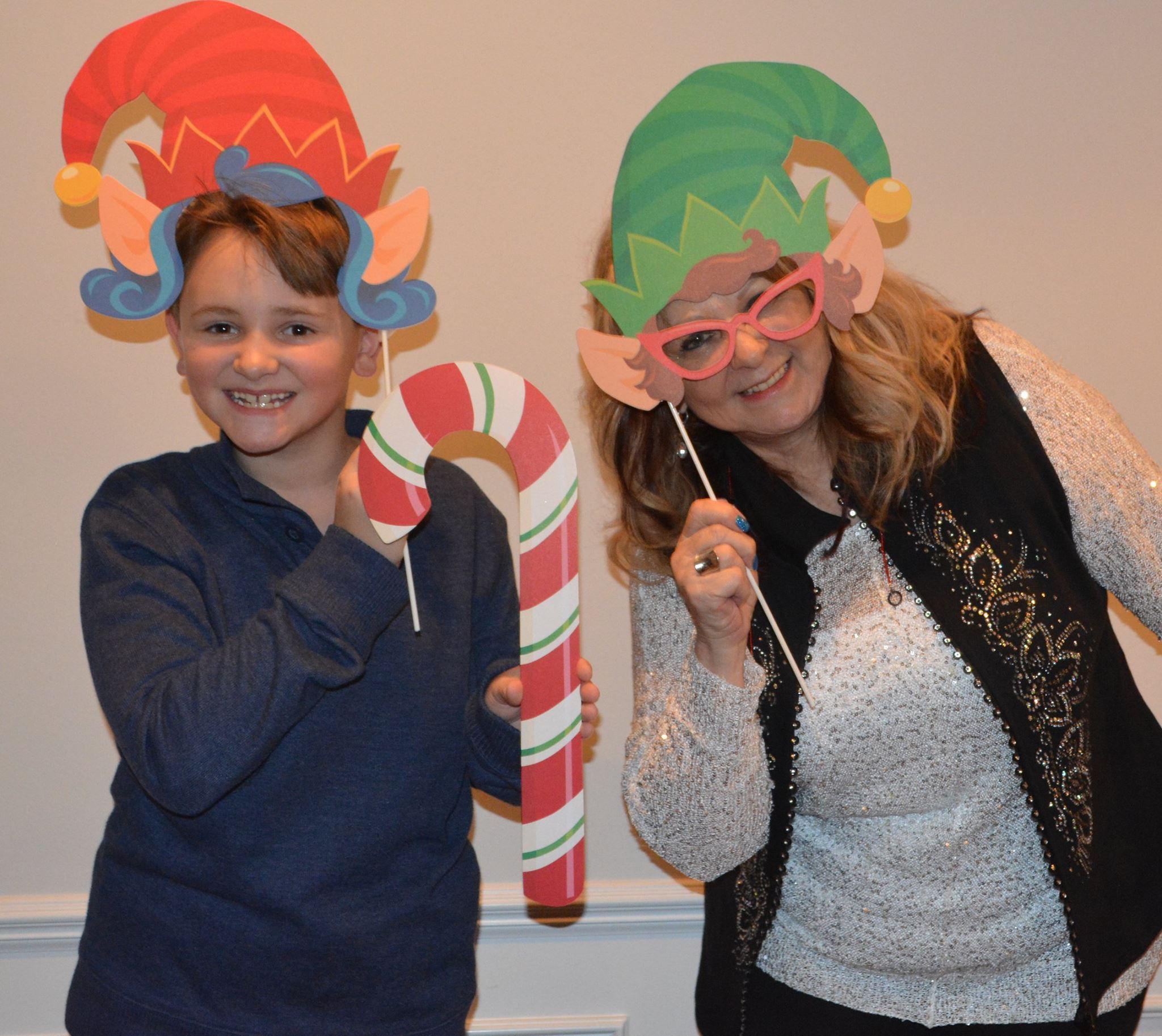 Christmas Photos Paula and Joey