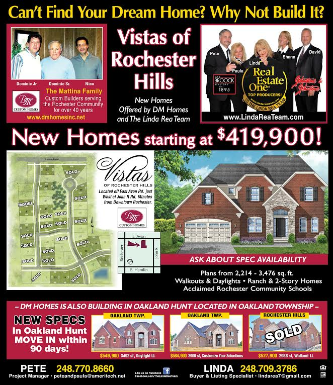 The Linda Rea Team at The Vistas of Rochester Hills