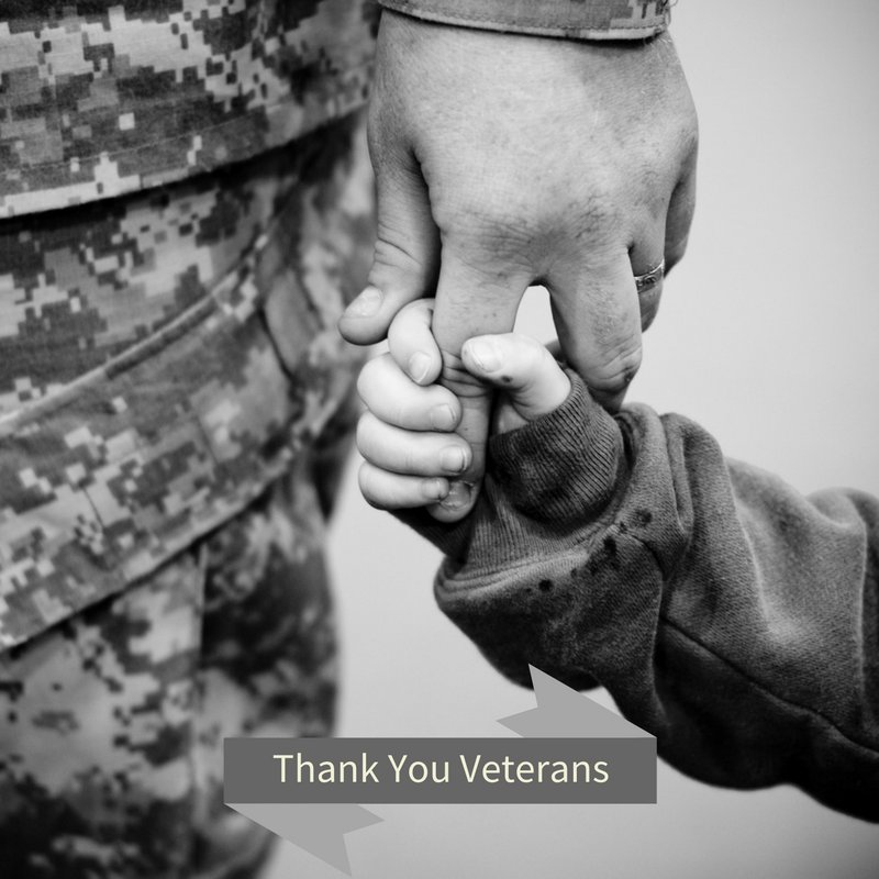 Remember to honor the Veterans in your life.