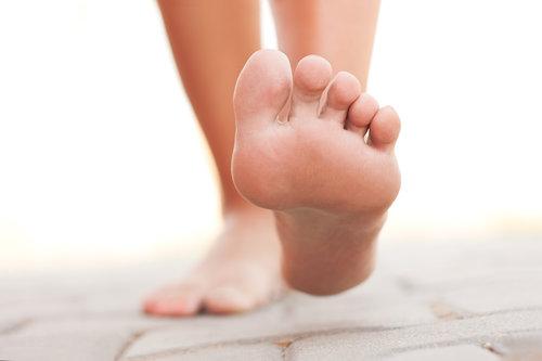 Legs walking