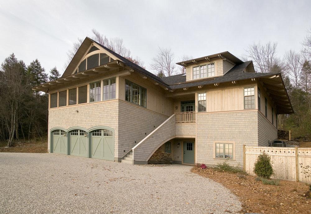 Hillside Home -
