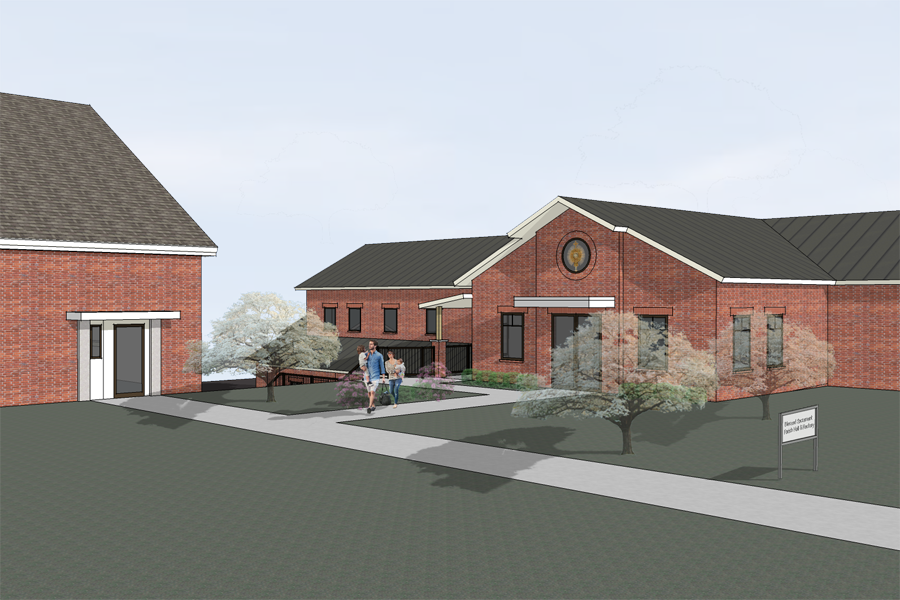 Blessed Sacrament Parish Hall and Rectory -