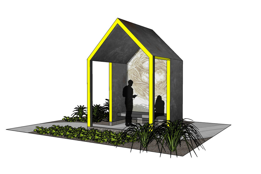 Great River Terrace Bus Shelter -