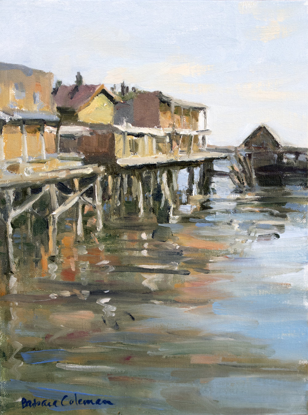 Copy of Monterey Wharf, 9x12