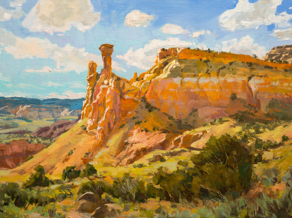 Summer Day at Ghost Ranch