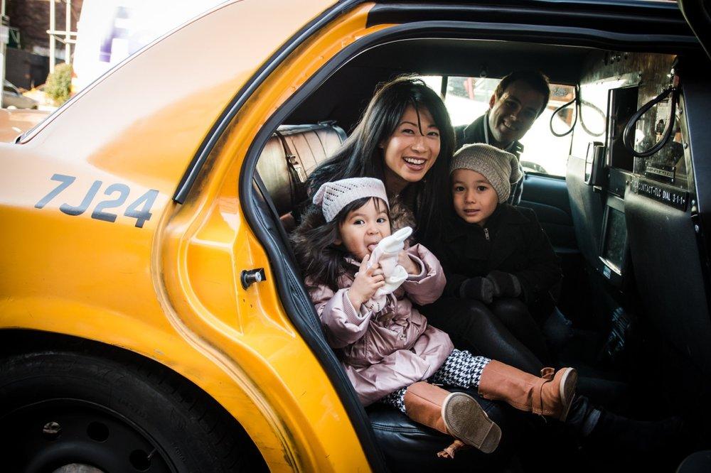 ria family in taxi