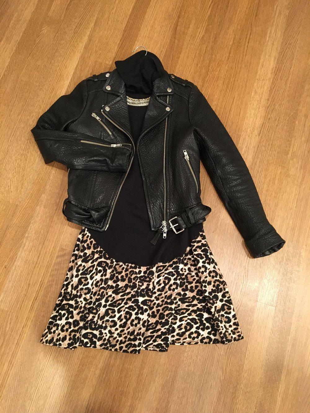 Jacket/Turtleneck/Dress