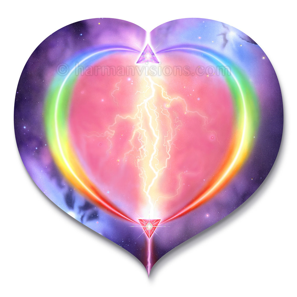 HEART RAINBOW heart
