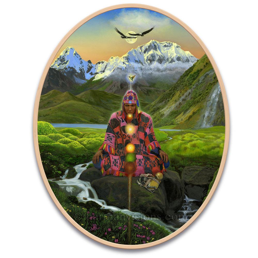INCA PROPHECY oval