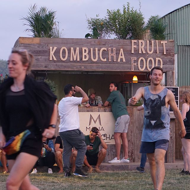 So proud of everyone who has worked on this special project. And made it happen! Tomorrow last day @dkmntl Dekmantel Festival 2018! . . #manakombucha #dkmntl #dekmantelfestival #kombucha #food #refreshing #festival #goodvibes #amsterdam #amsterdamsebos