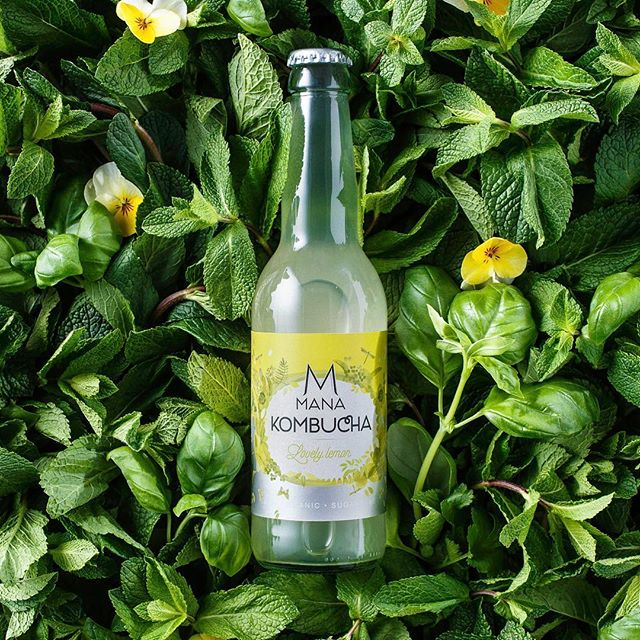 Lovely lemon.  Introducing our youngest brew. A sparkling kombucha which makes you happy, with pressed lemon giving natural energy and working detoxifying at the same time. MANA's taste which comes closest to a soft drink is suitable for starting and experienced kombucha drinkers. Serving tip: a leaf of mint . . . #manakombucha #lovelylemon #kombucha #sugarfree #suikervrij #naturallyfizzy #healthylifestyle #kombuchalove #fermenteddrinks #cleanfood 📷: @cocktailprofessor