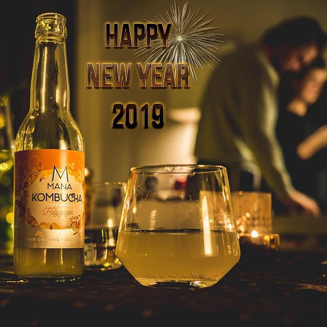 We at MANA Kombucha would like to wish you all a happy and healthy new year for 2019! 🍾 We also have selected a winner for our Kombucha giveaway! Thanks to all of you who joined and showed interest in our product. The winner for the 12 free bottles of #MANAKombucha is @willekelinneman thanks for the support and we hope you'll enjoy our all organic Kombucha.⁣ 🌱 ⁣ ⁣ ⁣ ⁣ #mana #manakombucha #kombucha #kombuchalove #fermented #organic #organicfoods #vegan #vegandrinks #healthylife #healthyliving #organicsoda #fermentation #healthydrinks #sugarfree #raworganic #cleanfood #cleaneating #kombuchaaddict #boostyourhealth #brewing #wholefoods #naturaldrink #lemon ⁣