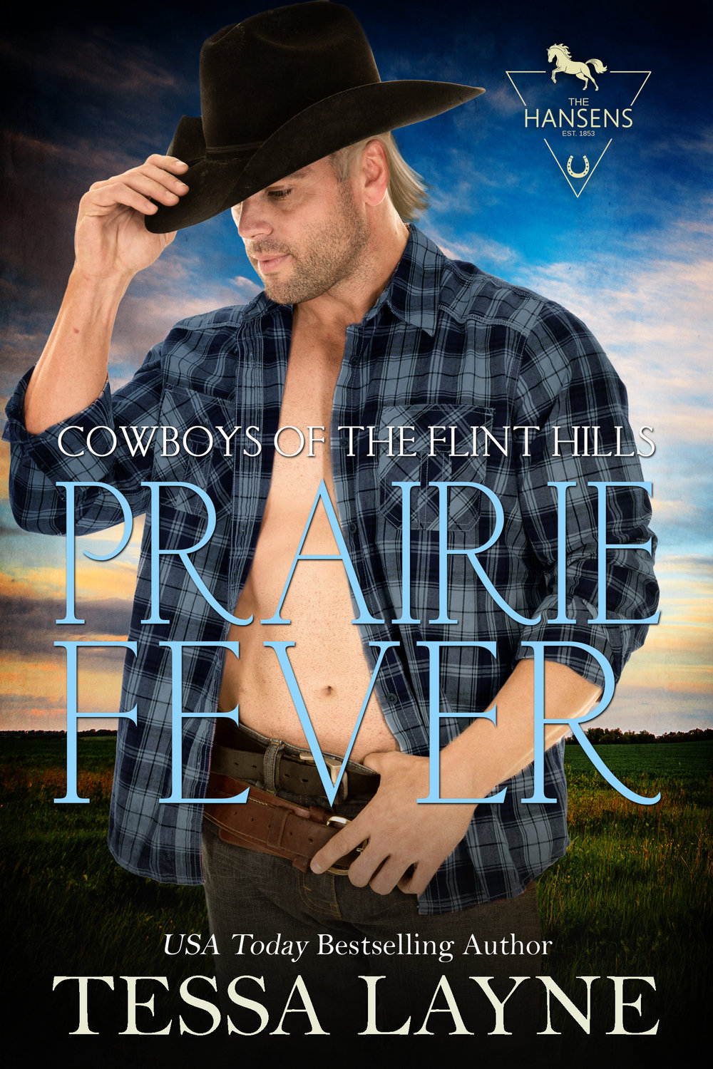 Prairie Fever - Hunky Gunnar Hansen is in for the shock of his life when he discovers that 'what happens in Vegas' doesn't stay in Vegas...Download HereKOBOIBOOKSNOOKGOOGLEKINDLEView the Cowboys of the Flint Hills series.
