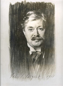 Portrait of Henry William Henderson by John Singer-Sergeant