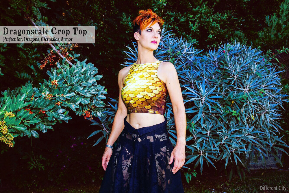 Dragonscale Crop Top