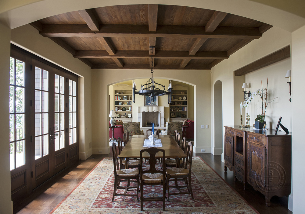 Dining Ceiling & Doors