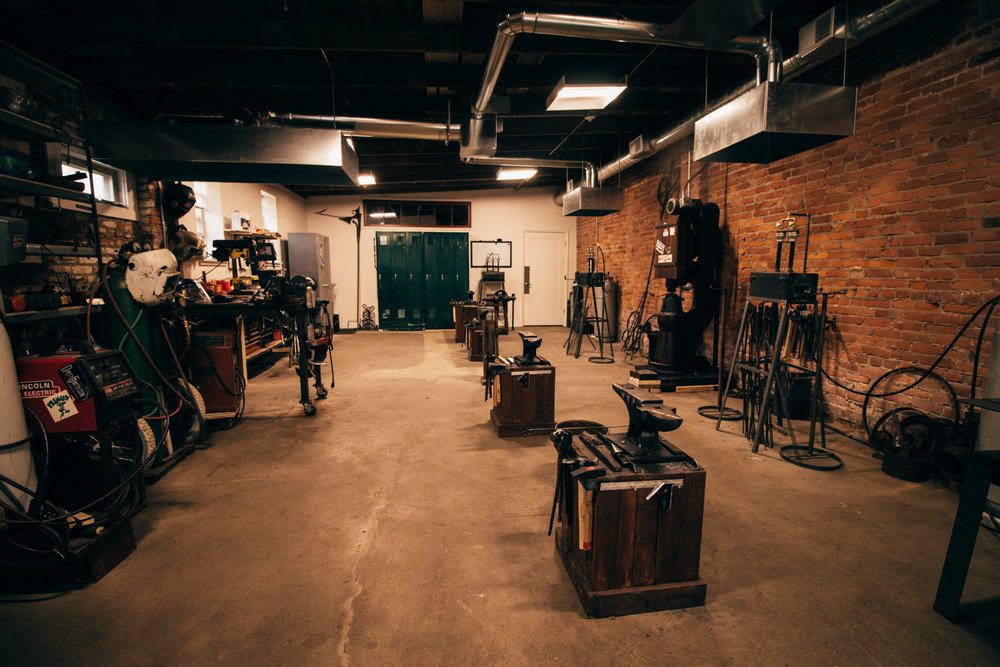Cleveland Surf Co. X Cleveland Blacksmithing Collab - Inside Workshop