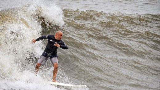 """Stevie D. - """"If you used to surf... You never did."""