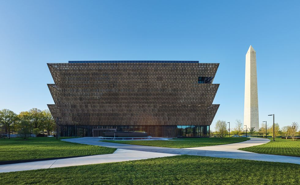 Smithsonian National Museum of African American History and Culture in Washington D.C. Image by Alan Karchmer.