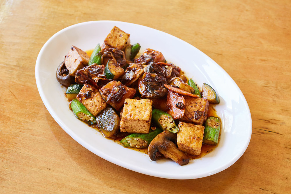 Tofu with Asparagus