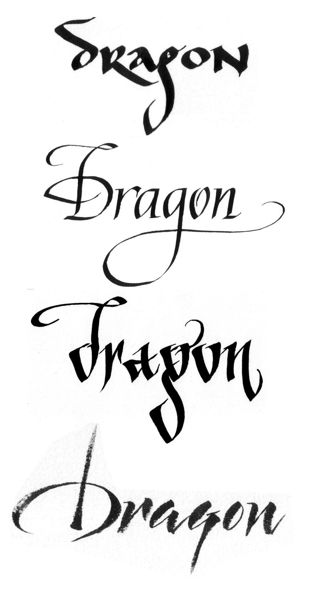 Four ways to slay a dragon identity