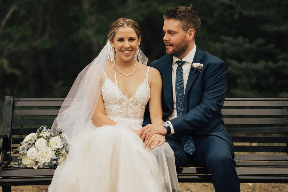 James & Katies Calgary Wedding