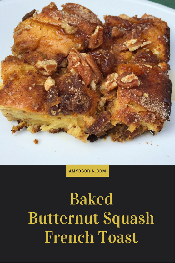 baked butternut squash french toast hygge fall and winter healthy recipes