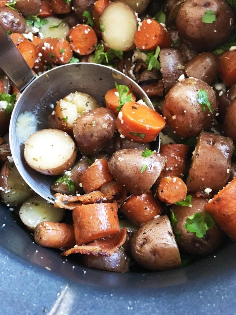 crockpot italian potatoes hygge fall and winter healthy recipes