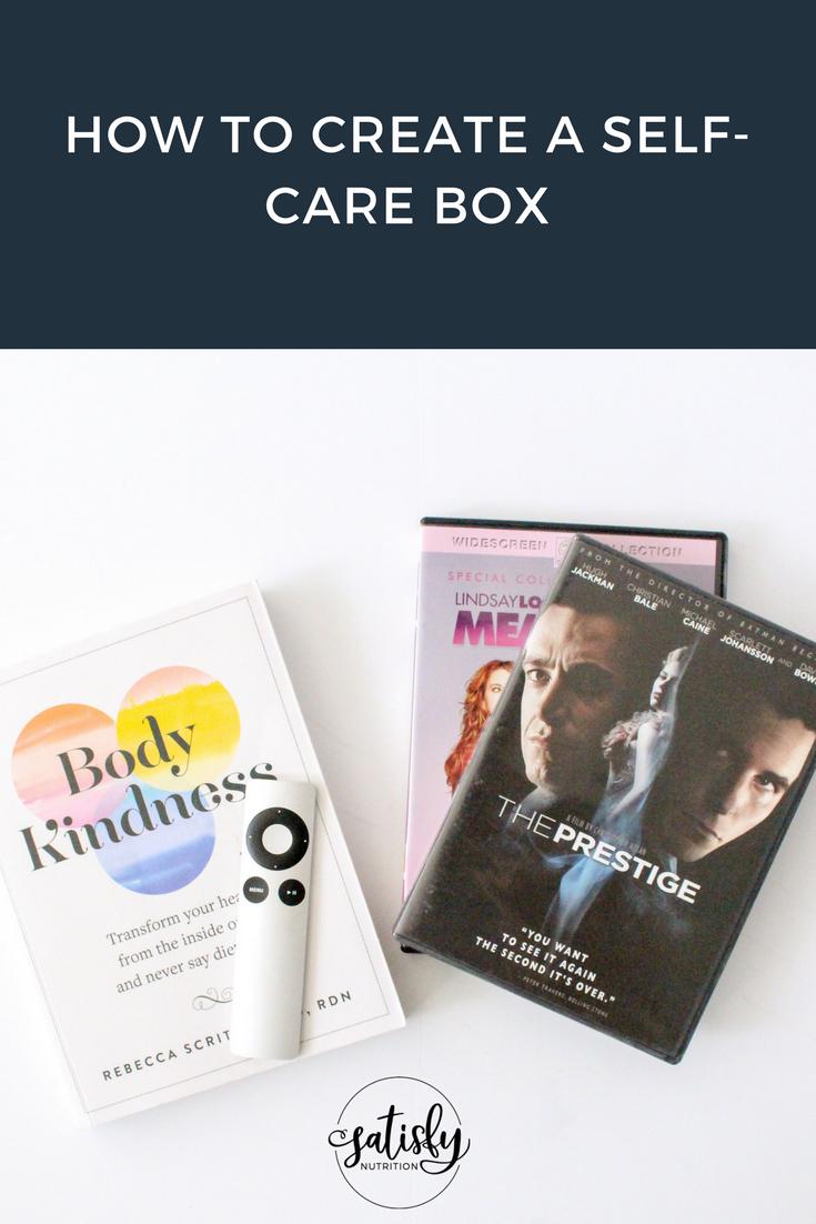 how to create a self care box