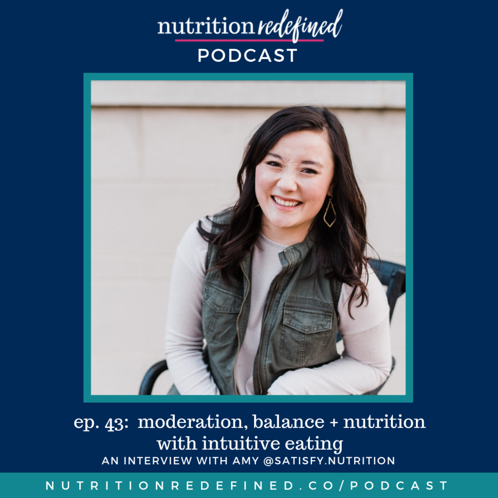 Amy Hanneke Nutrition Redefined Podcast