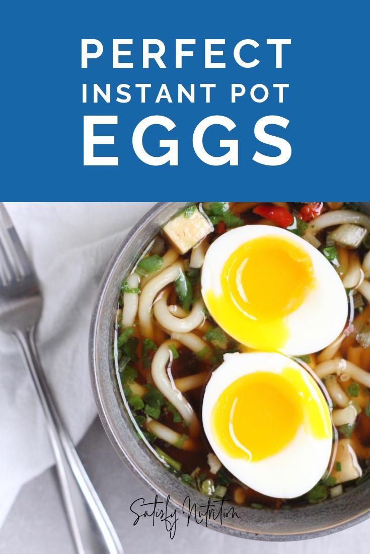 Perfect Instant pot eggs