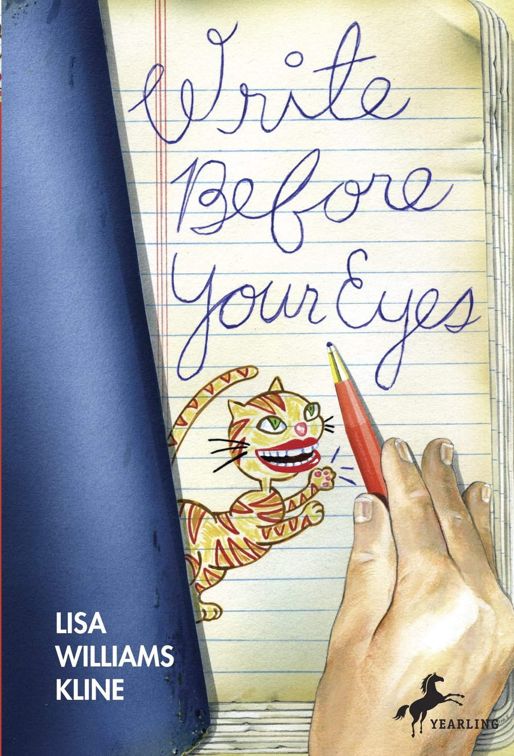 Write Before Your Eyes  | Publisher: Delacorte Press