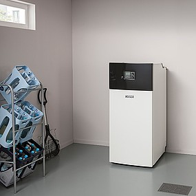 Small but intuitive - The A2 oil condensing boiler is ideal for heating modernisation due to its small footprint and simple flue refurbishment. Smallest and lightest condensing boiler in its class