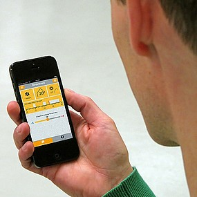 Control via smartphone - Intuitive electronic regulation and control with the ROTEX app.