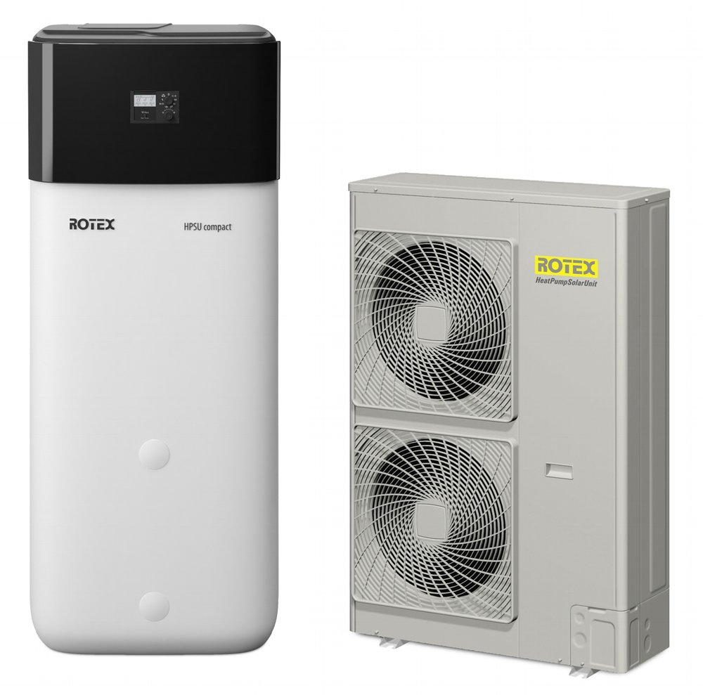 HEAT PUMP WATER HEATERS FOR DOMESTIC HOT WATER AND CENTRAL HEATING SYSTEMS -