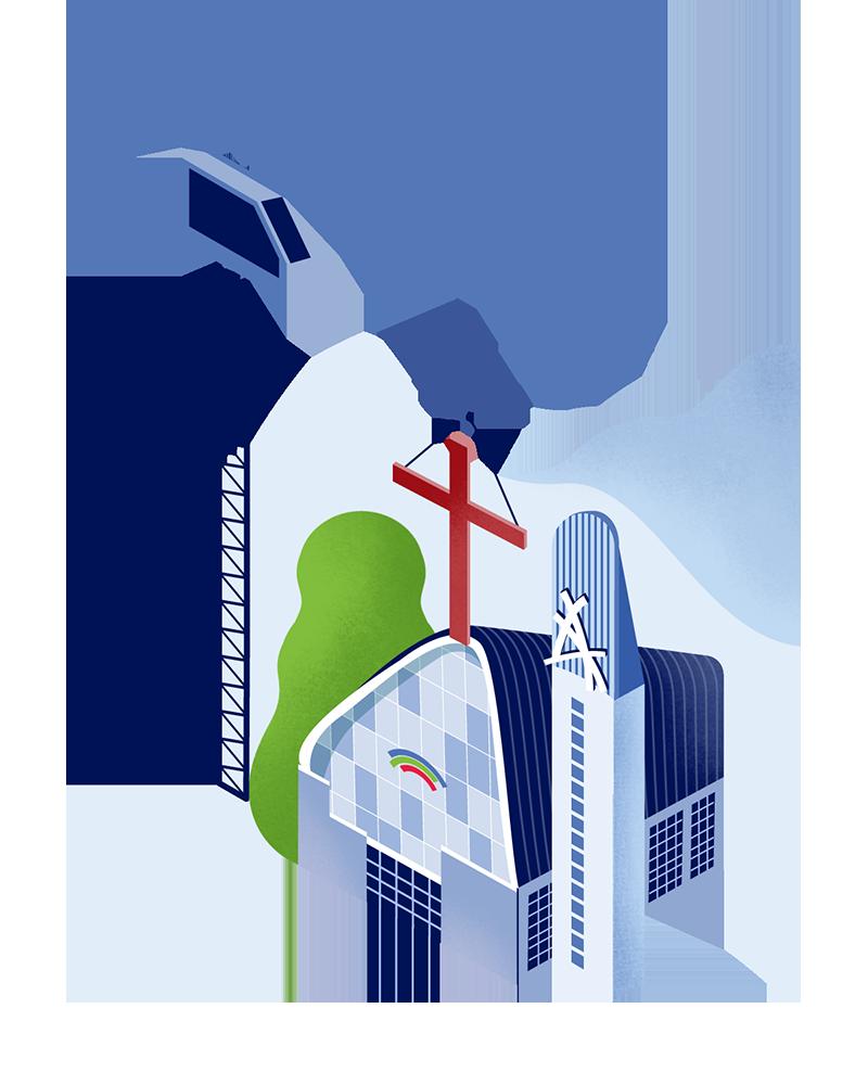 교회 설립 및 운영지원 사업 - 기존에 설립된 운정과 일산 벧엘교회를 복음 안에서 잘 운영하고, 추후 목적에 맞게 교회를 설립 및 운영하도록 지원합니다.