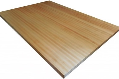 Maple Butcher Block - Maple is often the most common species used for butcher block applications. It is a light-colored wood that is durable and adds beauty to any kitchen or butler pantry. Standard countertop or island comes with hand-rubbed, food grade mineral oil, in maximum lengths of 12'.