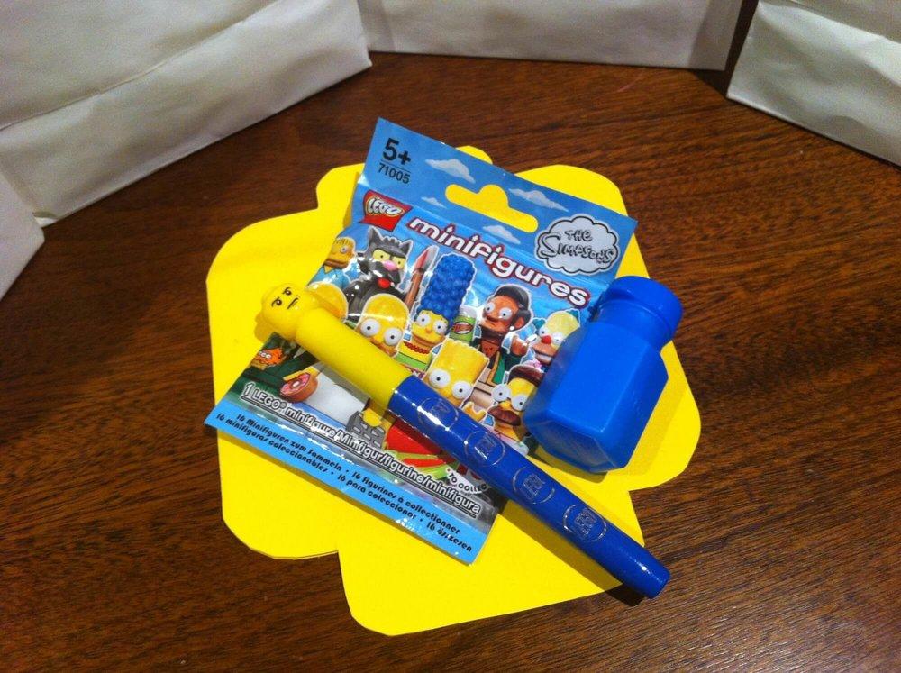 LEGO Birthday Party Bag Prizes