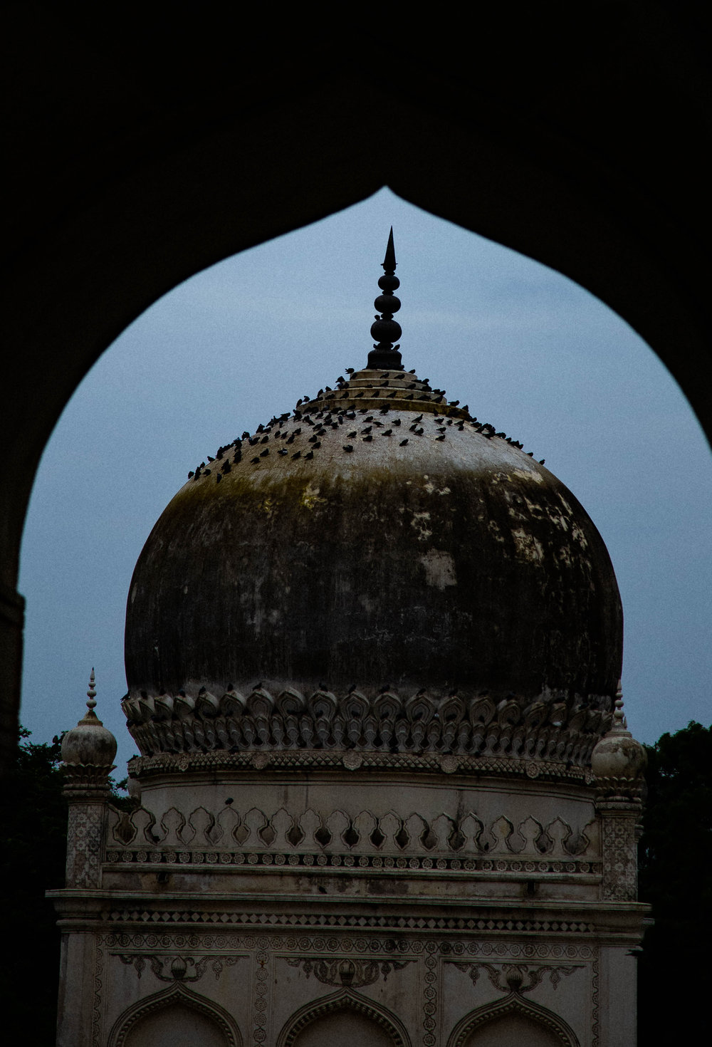 One view of only tomb ..