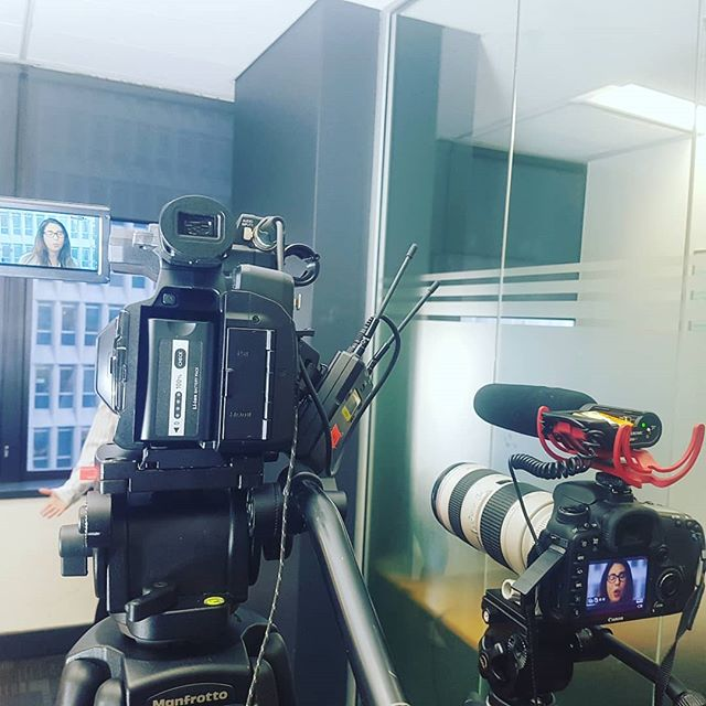 Today we had the privelage of recording a recruitment video for IQPC in Sydney, it was great breaking out the dslr and lights for a shoot again, now for the data wrangling and editing to begin - - - - #onlinevideo #corporatevideo #cameraoperator #cameraman #recruitmentvideo #dslr #panasonic #4k #freelancecameraoperator #videoproduction #videoediting