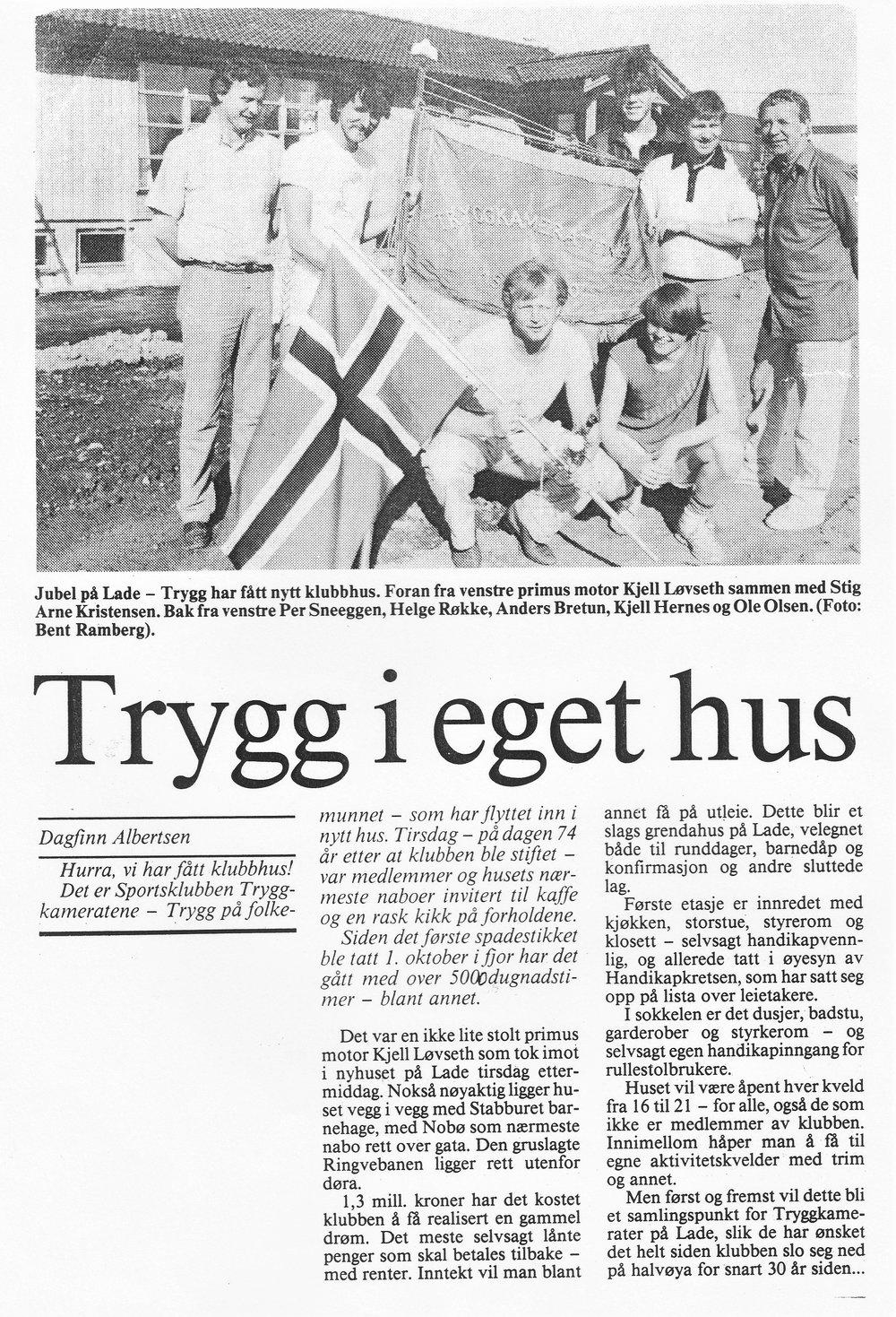 Arbeideravisa 15.mai 1984