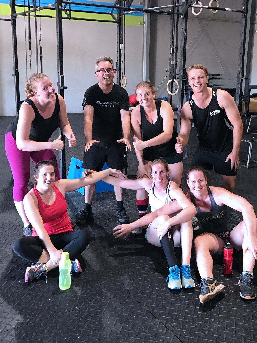 join the crossfit dubbo family - Learn how to use constantly varied, functional movements performed at high intensity to meet all of your fitness, sport or lifestyle goals - and have fun while you're doing it! Meet our community ➝