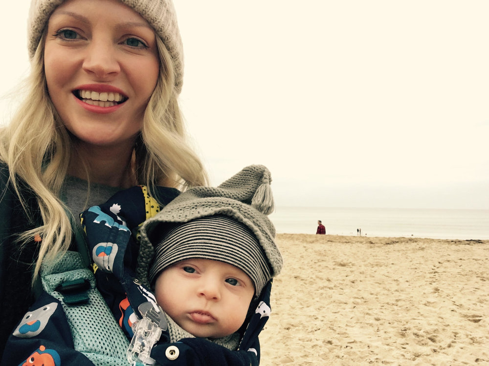 Editor's Beauty Director Alicia suffered with postnatal anxiety following the birth of  her second son Boe.