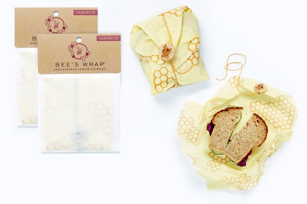 BEE'S WRAP Sustainable Sandwich Wrap