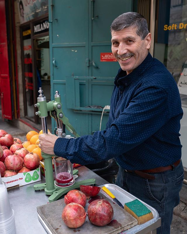 Fresh pomegranate juice makes days spent scanning that much sweeter ! Last month, the VW team traveled to Bethlehem, to digitally document the Church of the Nativity - the birthplace of Jesus. Shot by: @chris2water #virtualwonders
