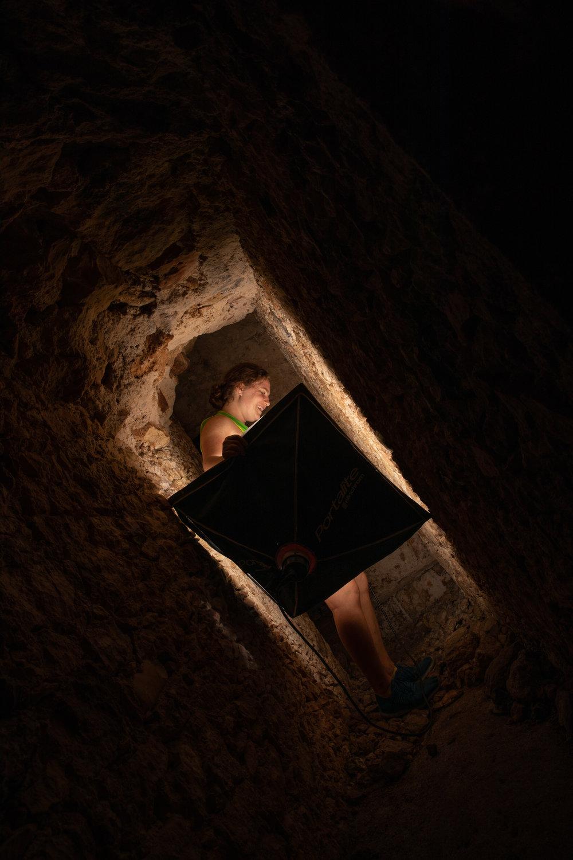Chichen Itza Underground.JPG